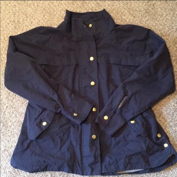 LOFT utility/anorak blue jacket